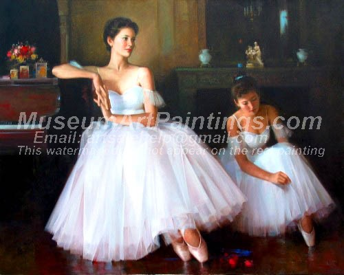 Ballet Oil Painting 038
