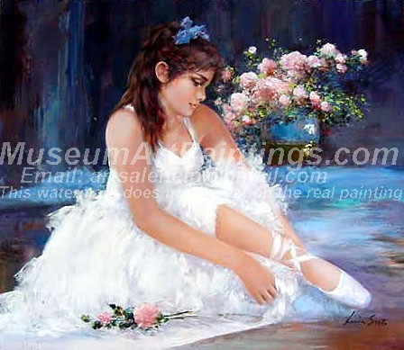 Ballet Oil Painting 039