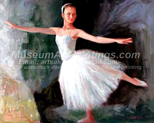 Ballet Oil Painting 040