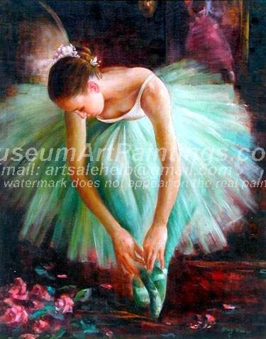 Ballet Oil Painting 051