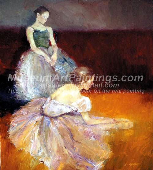 Ballet Oil Painting 053
