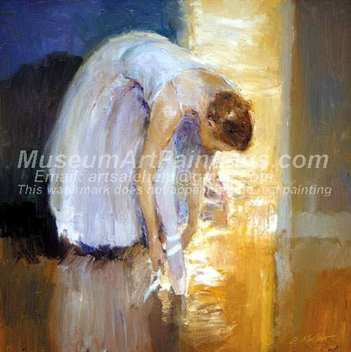 Ballet Oil Painting 054