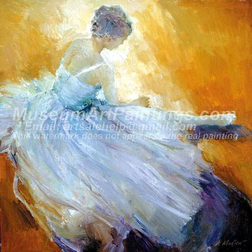 Ballet Oil Painting 057
