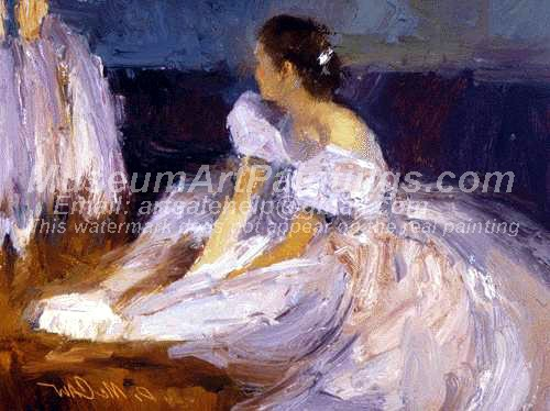 Ballet Oil Painting 058