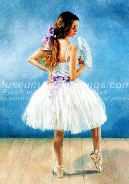 Ballet Oil Painting 059