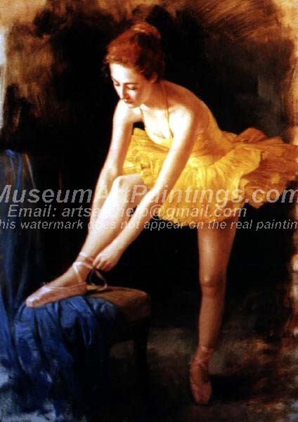 Ballet Oil Painting 060