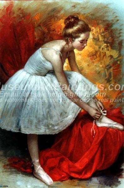 Ballet Oil Painting 061