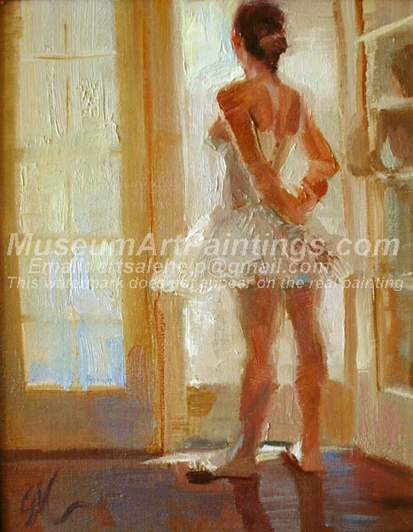 Ballet Oil Painting 067