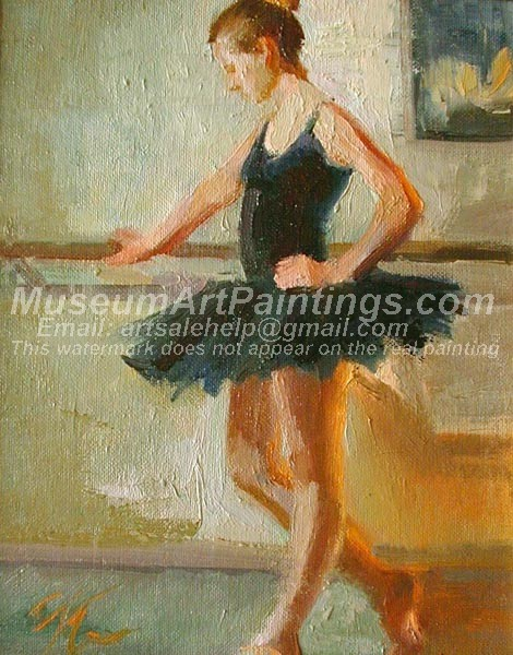 Ballet Oil Painting 068