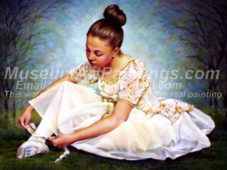 Ballet Oil Painting 072