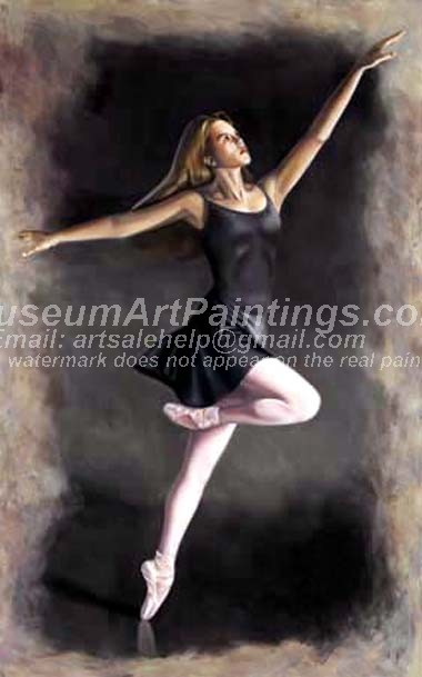 Ballet Oil Painting 076