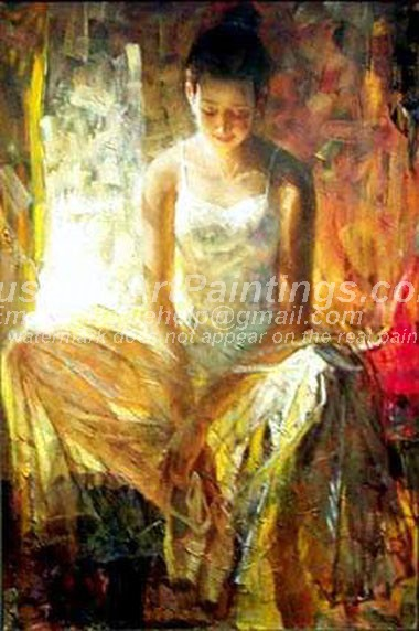 Ballet Oil Painting 077