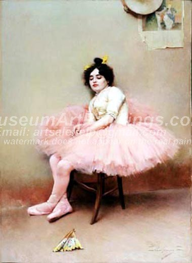 Ballet Oil Painting 078