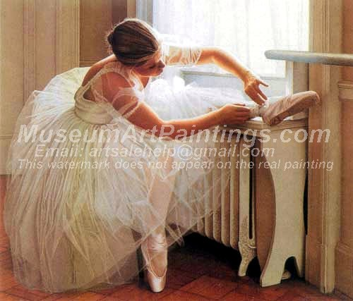 Ballet Oil Painting 081