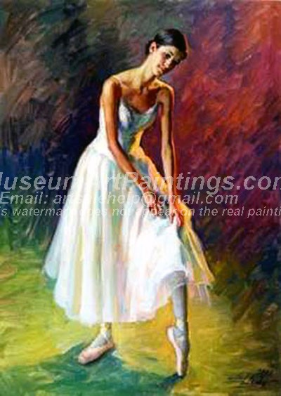 Ballet Oil Painting 082