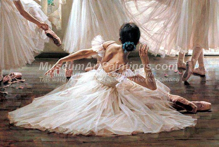 Ballet Oil Painting 089