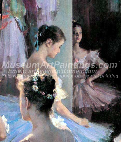 Ballet Oil Painting 092