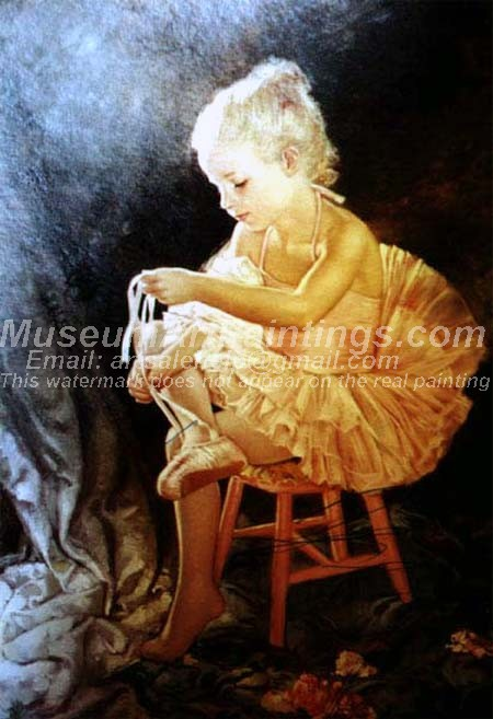 Ballet Oil Painting 095