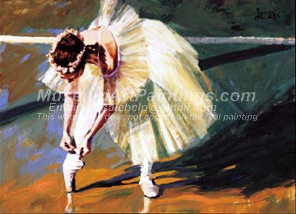 Ballet Oil Painting 101