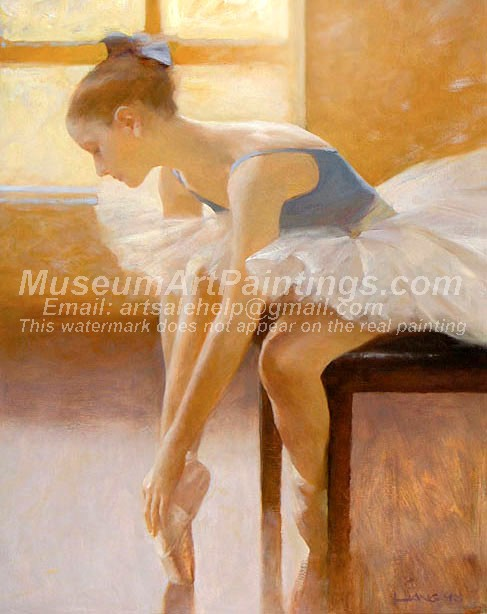 Ballet Oil Painting 113