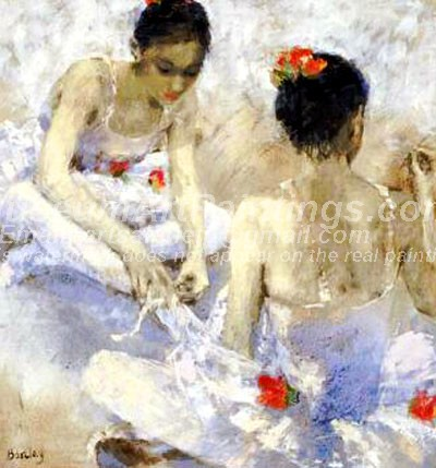Ballet Oil Painting 115