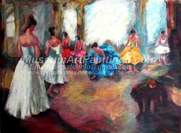 Ballet Oil Painting 130