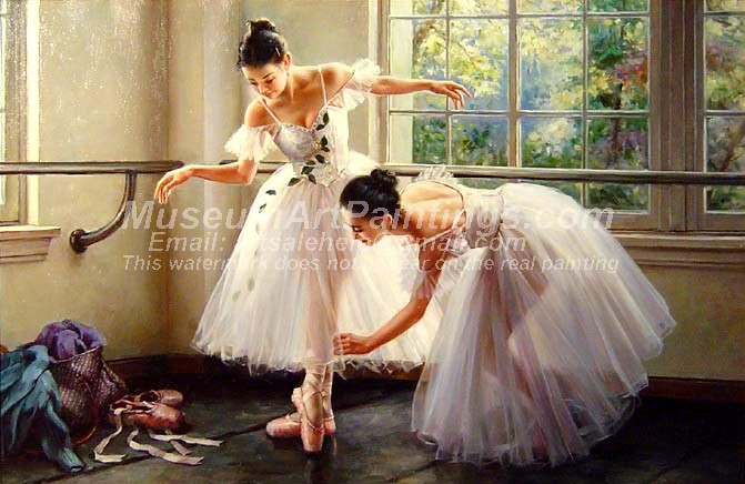 Ballet Oil Painting 131