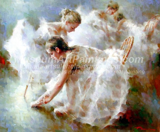 Ballet Oil Painting 132