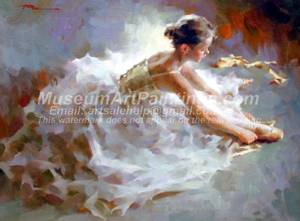 Ballet Oil Painting 133