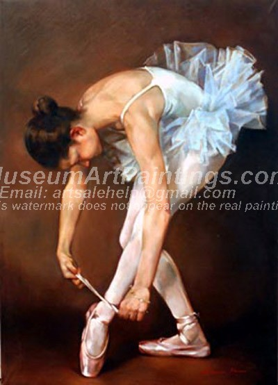 Ballet Oil Painting 136