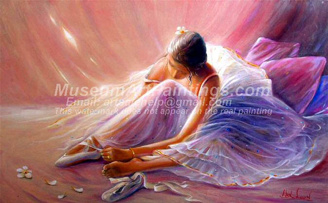 Ballet Oil Painting 137