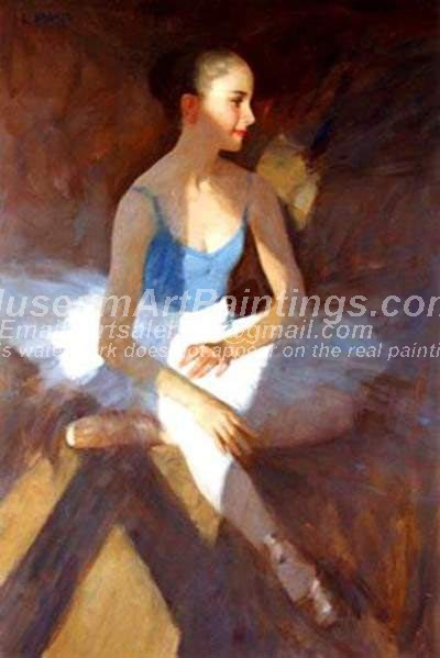 Ballet Oil Painting 139