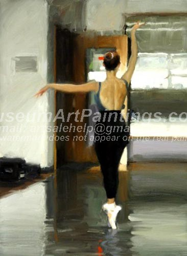 Ballet Oil Painting 140