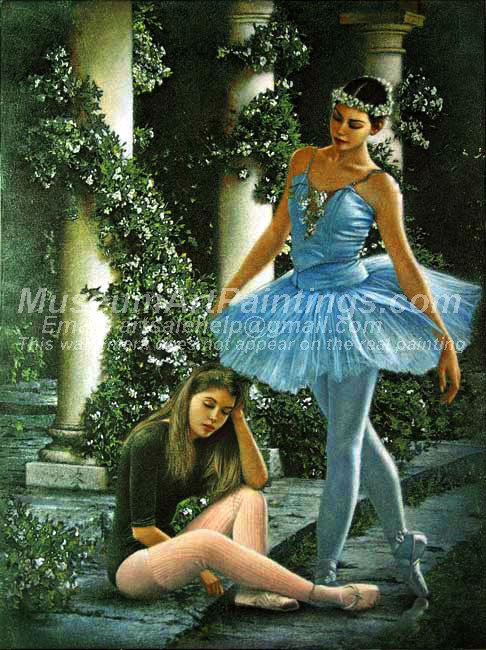 Ballet Oil Painting 143