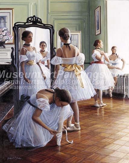 Ballet Oil Painting 144