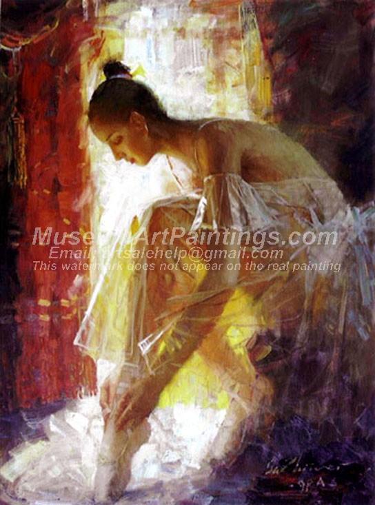 Ballet Oil Painting 155