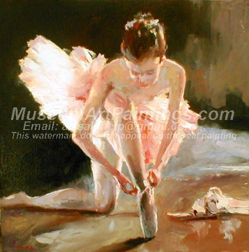 Ballet Oil Painting 180