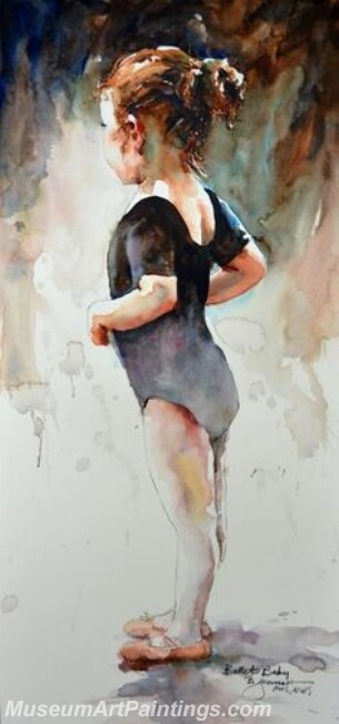 Ballet Oil Painting MDP01