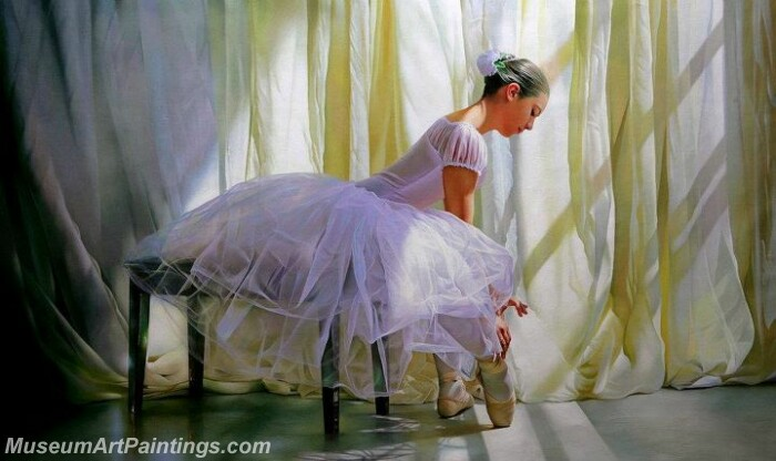 Ballet Oil Painting MDP013