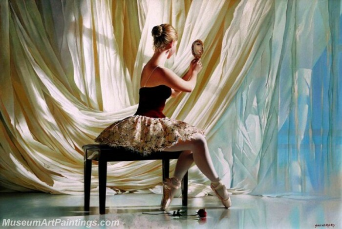 Ballet Oil Painting MDP017