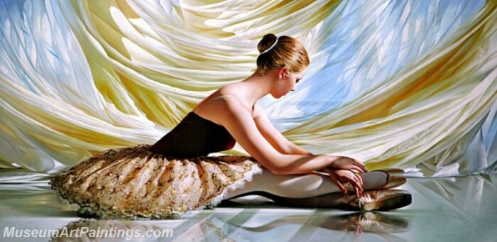 Ballet Oil Painting MDP018
