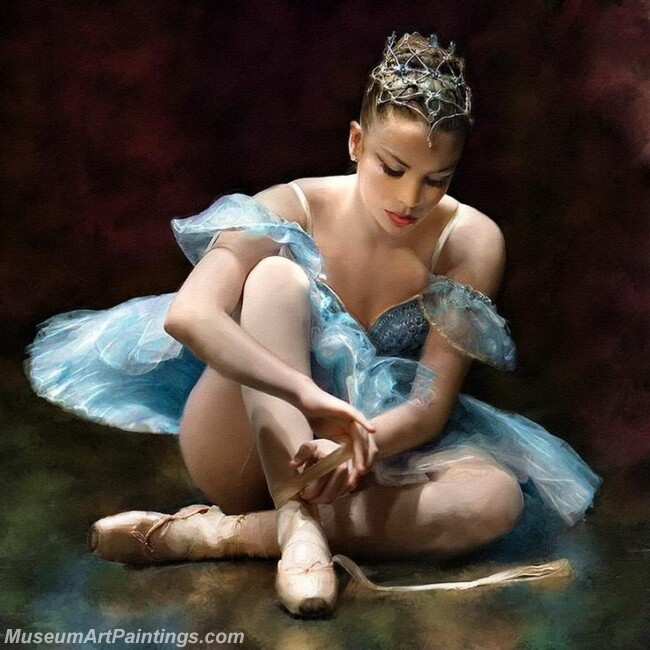 Ballet Oil Painting MDP02