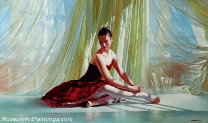 Ballet Oil Painting MDP021