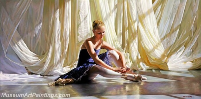 Ballet Oil Painting MDP024