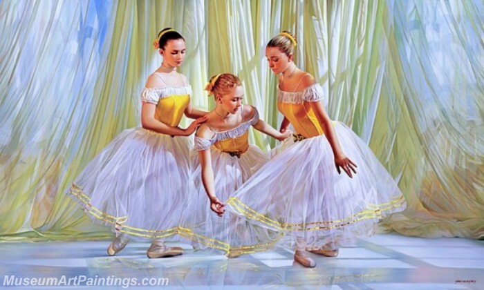 Ballet Oil Painting MDP028