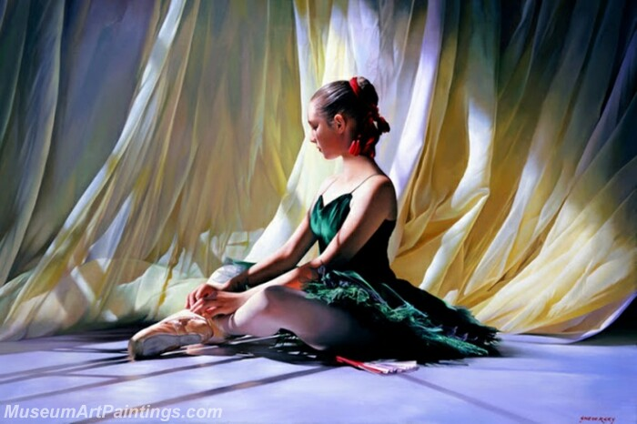 Ballet Oil Painting MDP03