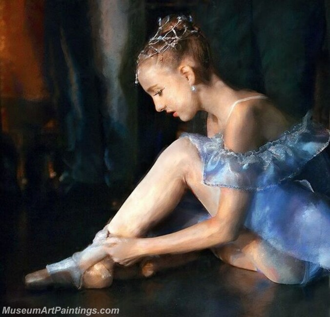 Ballet Oil Painting MDP04