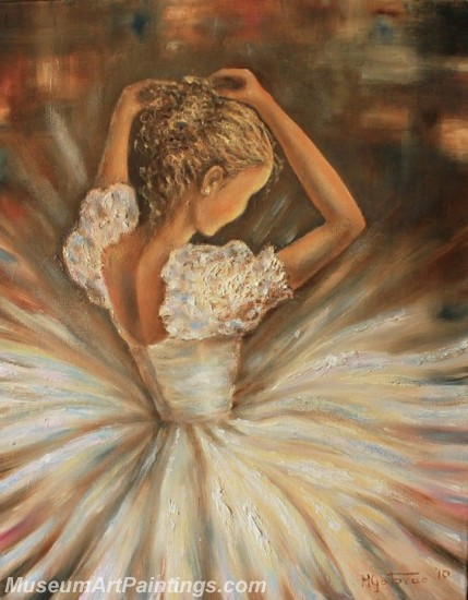 Ballet Oil Painting On Canvas MB011
