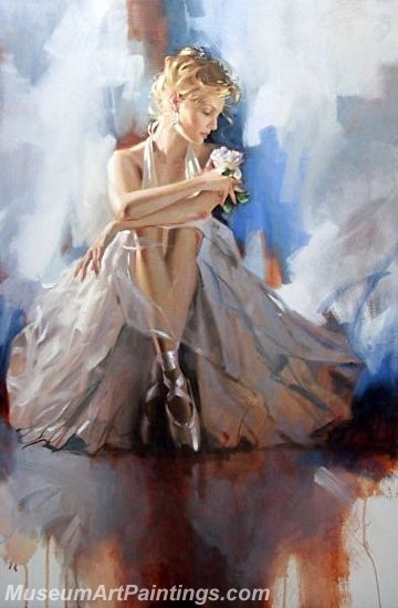 Ballet Oil Painting On Canvas MB012