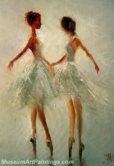Ballet Oil Painting On Canvas MB013